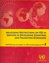 Measuring Restrictions on FDI in Services in Developing Countries and Transition Economies