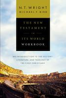 The New Testament in Its World Workbook PDF
