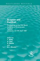 Science and Football  Routledge Revivals  PDF