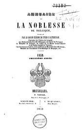 Annuaire de la noblesse de Belgique: Volume13