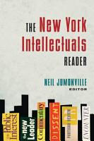 The New York Intellectuals Reader PDF