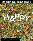 Anti-Stress : Happy Doodle Coloring Book for Adult