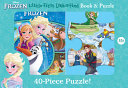 Disney Frozen  Little First Look and Find Book   Puzzle