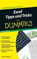 Excel Tipps und Tricks f  r Dummies PDF