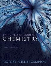 Principles of Modern Chemistry: Edition 7