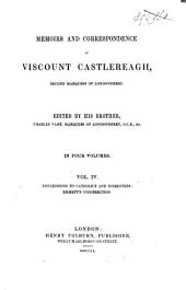 Memoirs and Correspondence of Viscount Castlereagh, Second Marquess of Londonderry: Volume 4