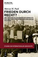 Frieden durch Recht  PDF