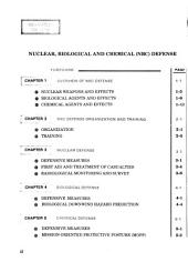 NBC (nuclear, biological and chemical) defense