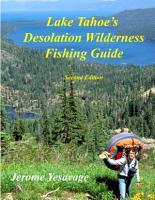 Lake Tahoe s Desolation Wilderness Fishing Guide PDF