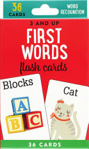 FIRST WORDS FLASH CARDS.