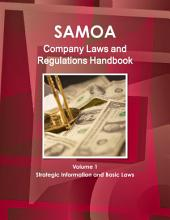 Samoa Western Company Laws and Regulations Handbook