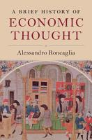 A Brief History of Economic Thought PDF