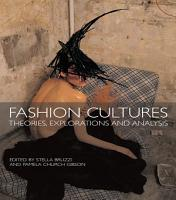 Fashion Cultures PDF