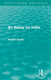 An Essay on India (Routledge Revivals)
