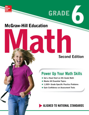 McGraw Hill Education Math Grade 6  Second Edition