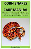 Corn Snakes Care Manual PDF