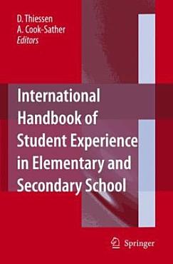 International Handbook of Student Experience in Elementary and Secondary School PDF