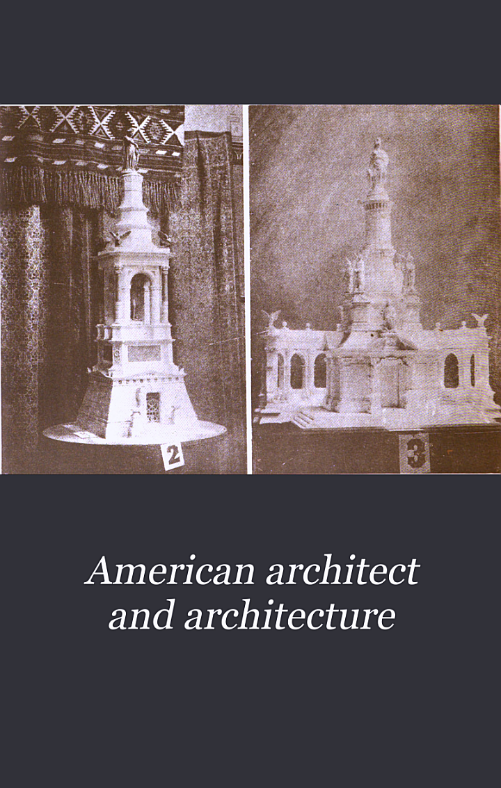 American Architect and Architecture