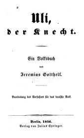 Uli, der Knecht: ein volksbuch, Band 1