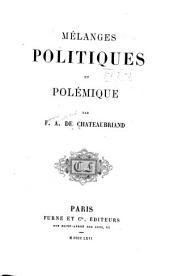 Mélanges politiques et polémique
