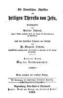 Die s  mmtlichen Schriften der heiligen Theresia von Jesu PDF