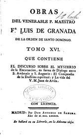 Obras del venerable P. Maestro Fr Luis de Granada ...