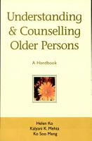 Understanding and Counselling Older Persons PDF