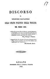 Discorso sullo stato politico della Toscana nel Marzo 1847
