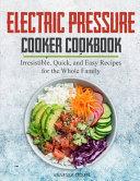 Electric Pressure Cooker Cookbook PDF