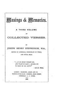 Musings   Memories PDF