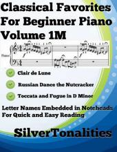 Classical Favorites for Beginner Piano Volume 1 M