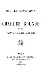 Charles Gounod et le Don Juan de Mozart