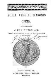 Publi Vergili Maronis Opera