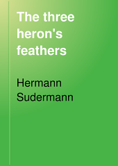 The Three Heron's Feathers