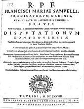 Praxis Nova observanda, in Ecclesiasticis Sepulturis, Christi Fidelibus Catholicis tradentis