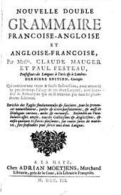 Nouvelle double grammaire francoise-angloise et angloise-françoise
