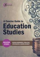 A Concise Guide to Education Studies PDF