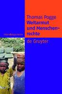 Weltarmut und Menschenrechte PDF