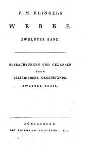 Werke: Band 12