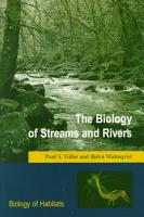 The Biology of Streams and Rivers PDF