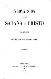 Nuova Sion ovvero Satana e Cristo: cantica