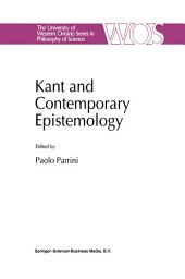Kant and Contemporary Epistemology