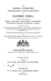 Bhagulpoor, Goruckpoor, and Dinajepoor