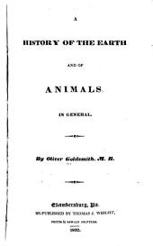 A History of the Earth and of Animals in General