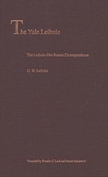 The Leibniz Des Bosses Correspondence PDF