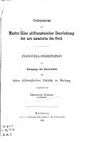 Prolegomena zu Ma  tre Elies altfranz  sischer bearbeitung der Ars amatoria des Ovid PDF