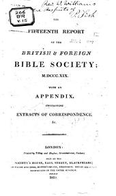 The Report of the British and Foreign Bible Society: Volume 15