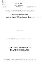 Bulletin - Pennsylvania State College, School of Agriculture, Agricultural Experiment Station: Issues 141-170