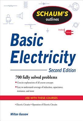 Schaum s Outline of Basic Electricity  Second Edition PDF