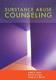 Substance Abuse Counseling Book